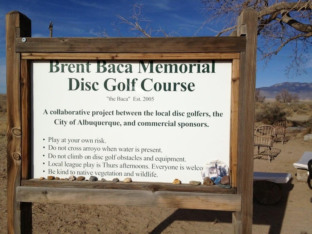Brent Baca Memorial Disc Golf Course