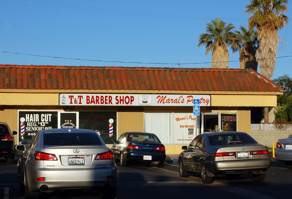 T barber shop reviews barbers vanowen