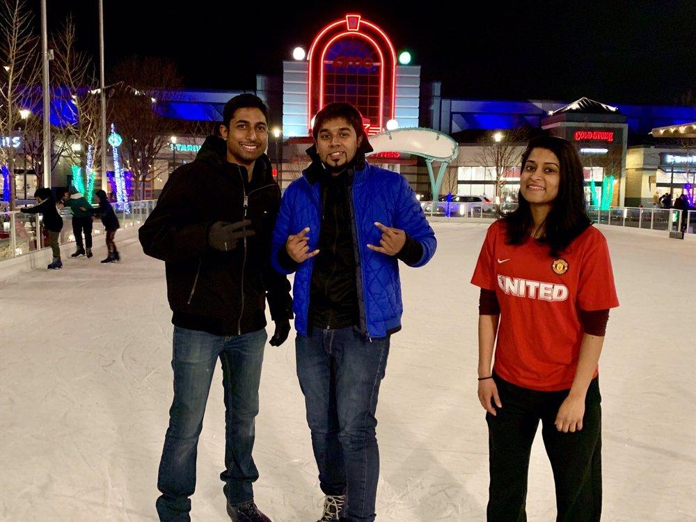 Outdoor Ice Skating The Avenue At WHITE MARSH: 8125 Honeygo Blvd, Nottingham, MD