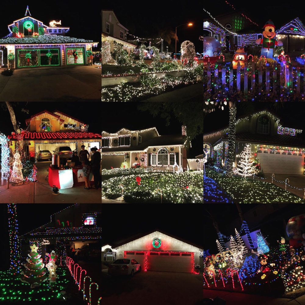 Candy Cane Lane For Christmas: Hickory St, Poway, CA