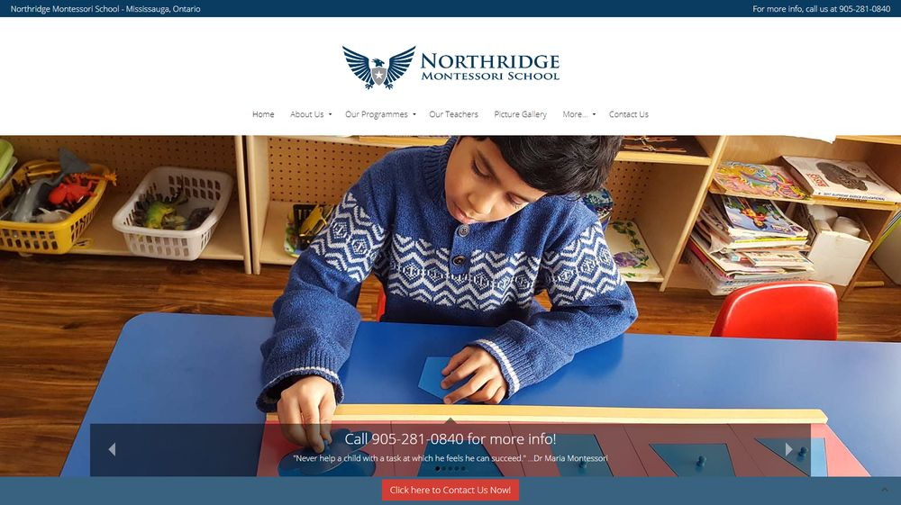Northridge Montessori School - Cooksville - Mississauga, ON
