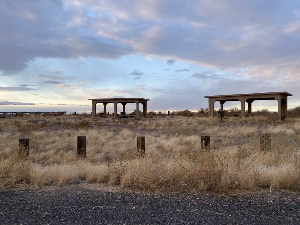 Little Painted Desert County Park: Painted Desert Rim Dr, Winslow, AZ