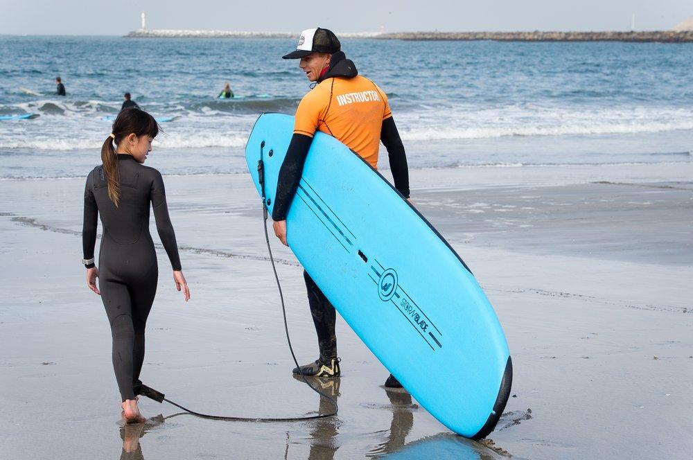 Tommy Tsunami Surf School: 531 Obispo Rd, Half Moon Bay, CA