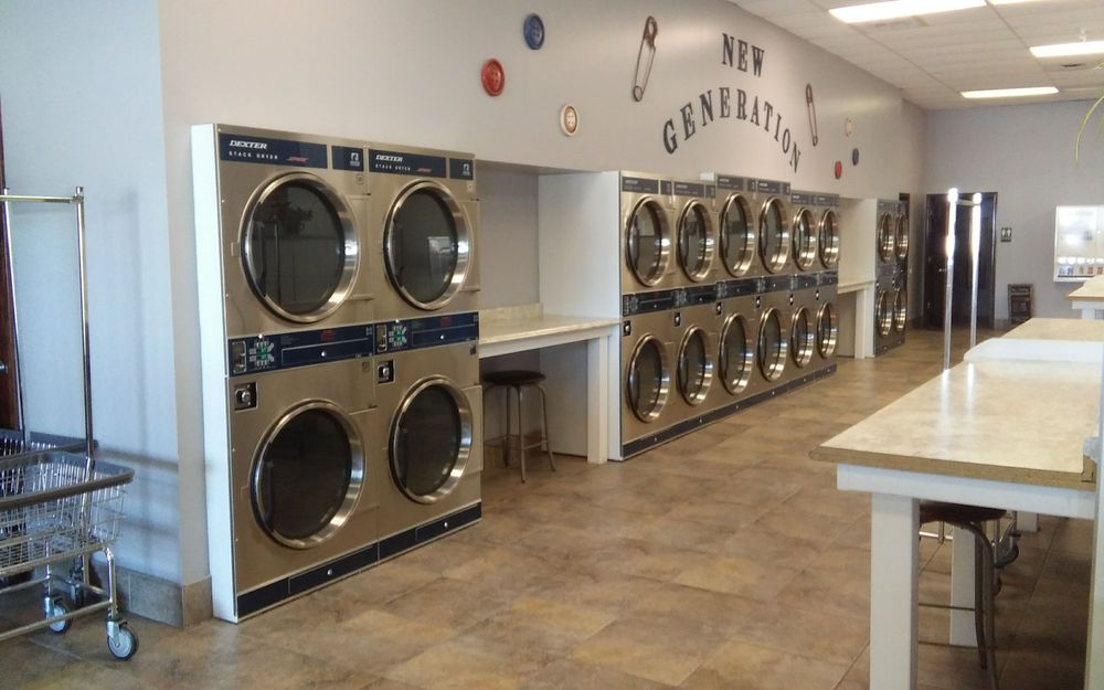 New Generation Laundry & Dry Cleaners: 420 N Main plz, Chatham, IL