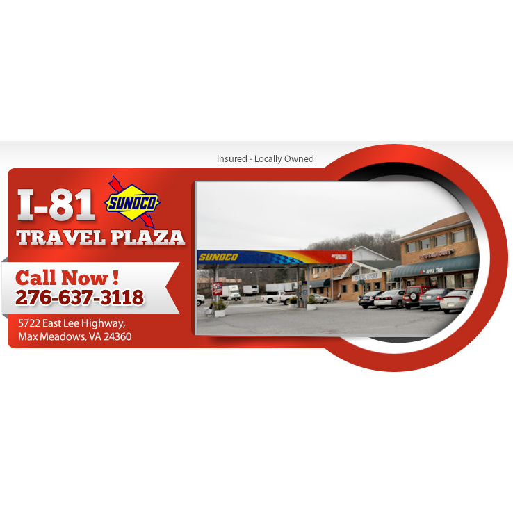 I-81 Travel Plaza: 5722 E Lee Hwy, Max Meadows, VA