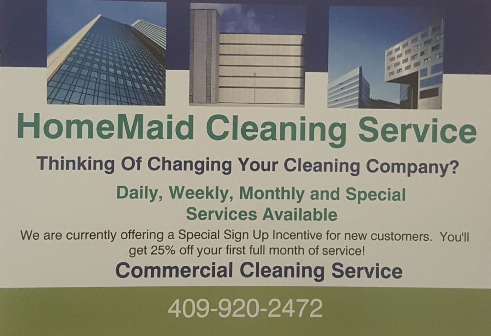 HomeMaid Cleaning Service: Vidor, TX