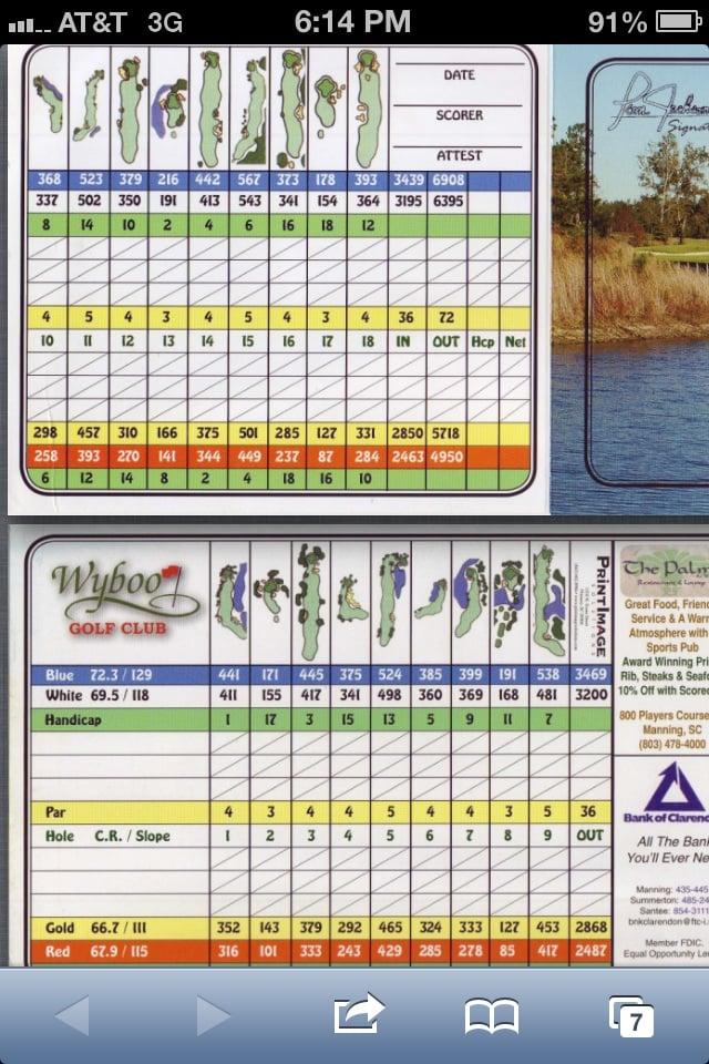 Wyboo Golf Club: 1 Warrens Way, Manning, SC