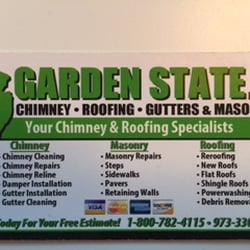 Bon Photo Of Garden State Chimney Roofing Gutters U0026 Masonry   Little Falls, NJ,  United