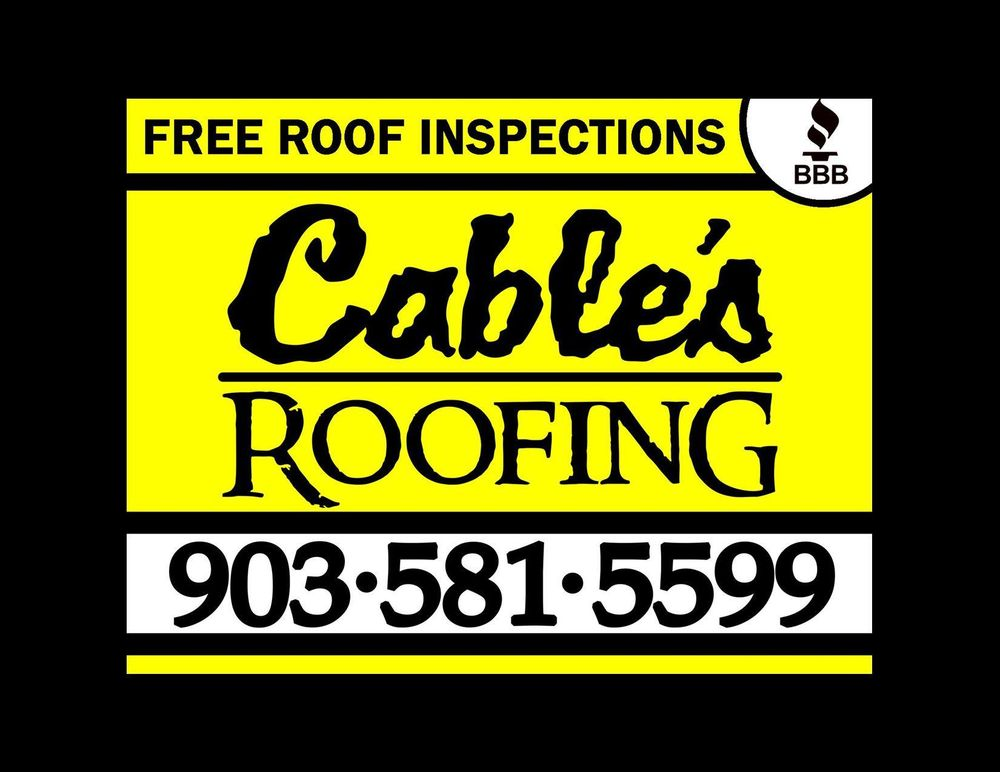 Cable's Roofing: 13033 Hi Way, Tyler, TX
