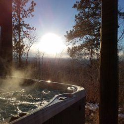 Photo Of Black Hills Cabin Rentals   Lead, SD, United States. Hot Tub