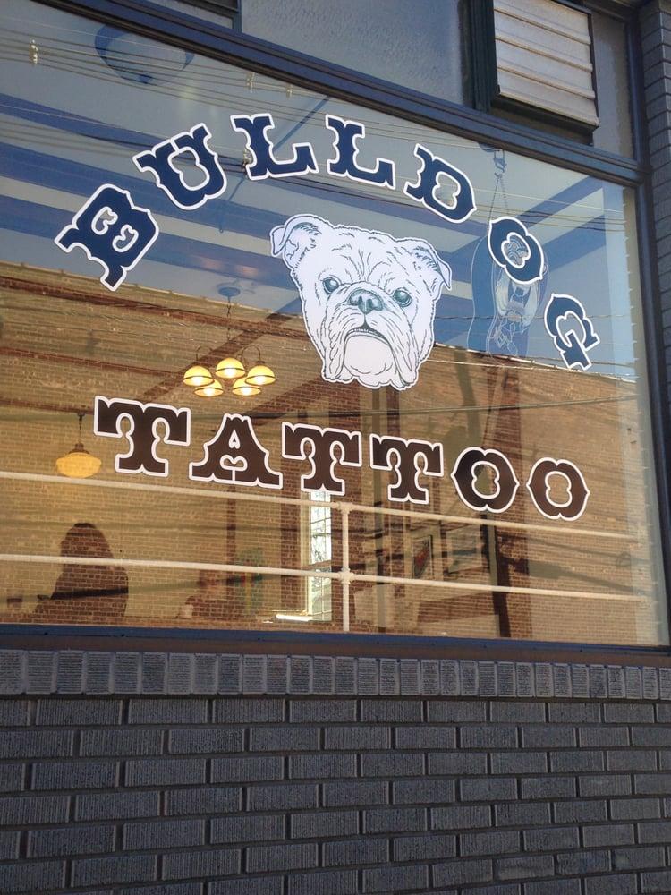 Bulldog tattoo tatovering 9 kiel ave butler nj usa for Butlers kiel