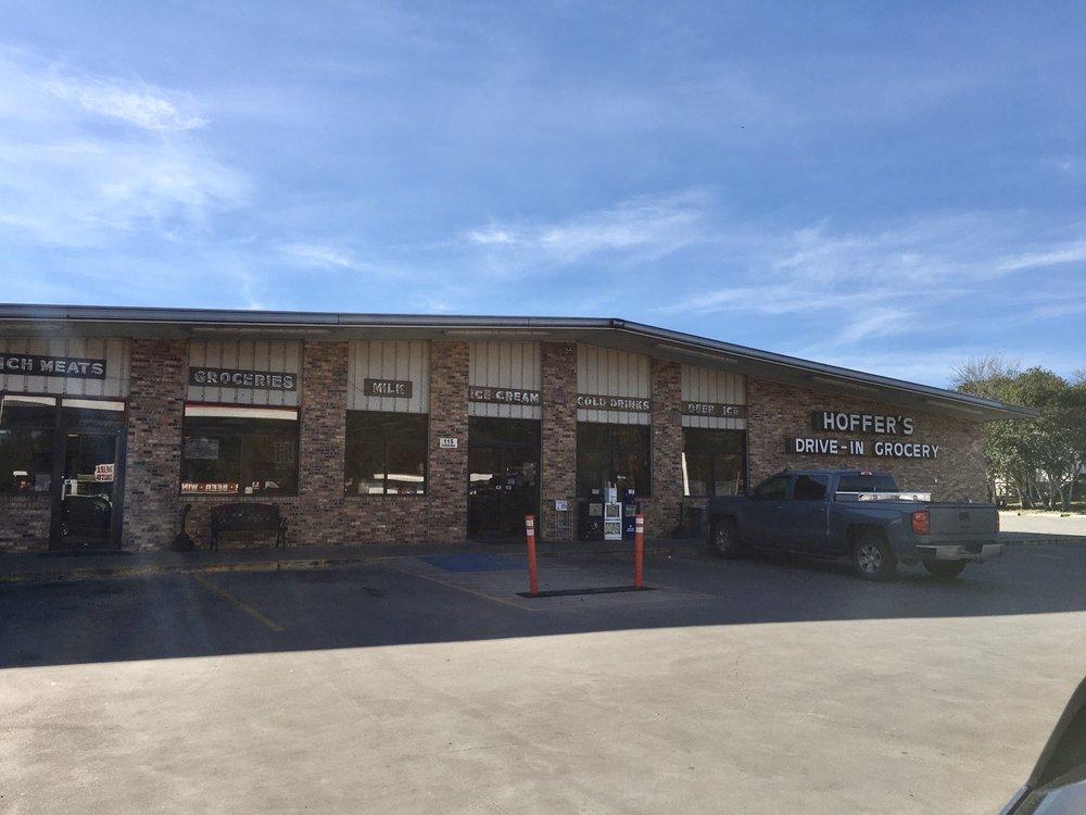 Hoffer's Drive In Grocery & Washateria: 115 Fairwinds St, Hallettsville, TX