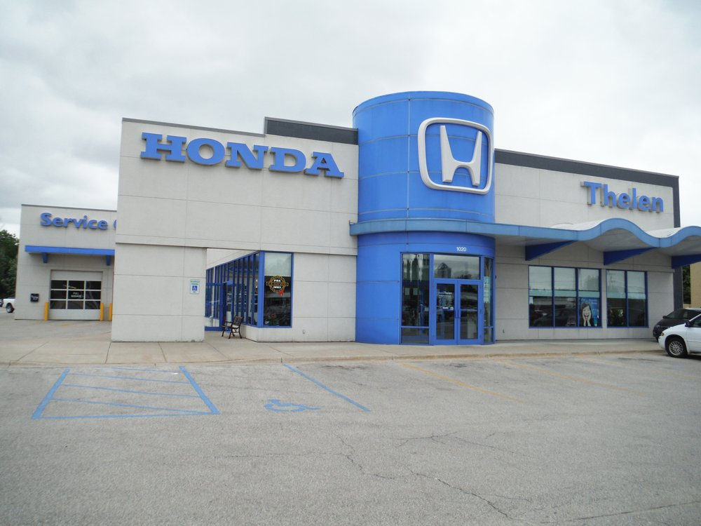 Thelen honda car dealers 1020 n euclid ave bay city for Honda dealer phone number