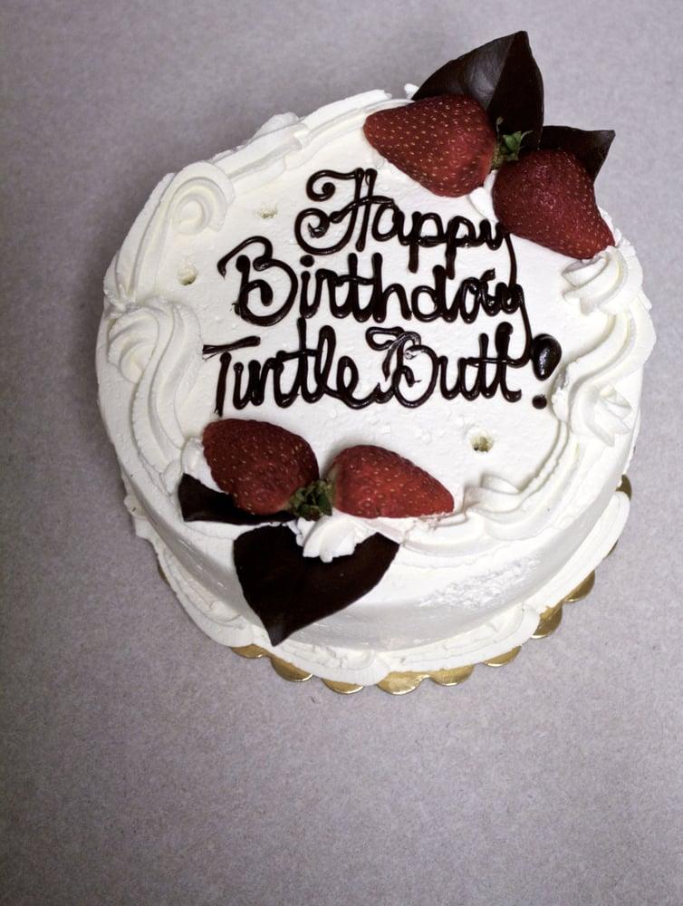 Fruit Basket Birthday Cake!