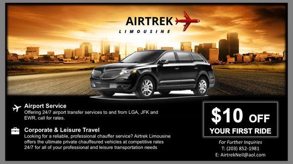 Airtrek Limousine Request A Quote Limos Norwalk Ct Phone