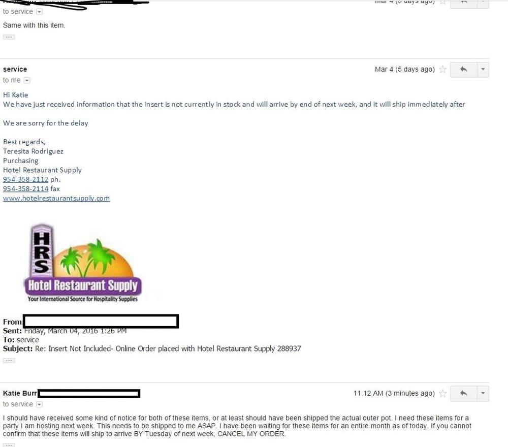 Hotel Restaurant Supply - 37 Reviews - Restaurant Supplies - 224 S ...