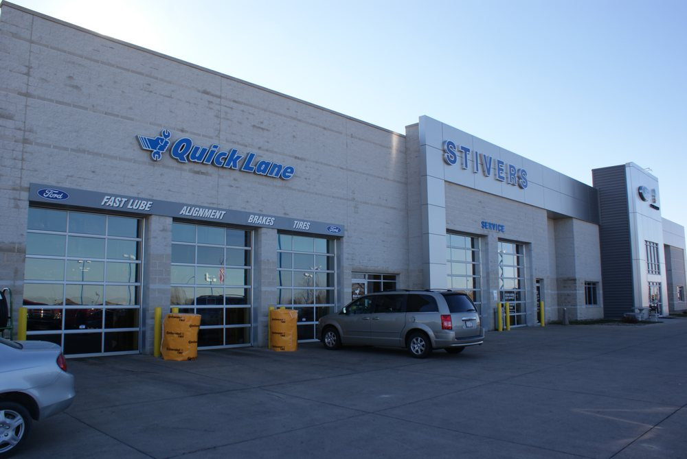 Stivers Quick Lane >> Stivers Ford Lincoln Car Dealers 1450 E Hickman Rd