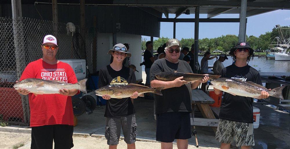 Capt Phil Robichaux's Fishing Charters: 5057 Kenal Rd, Lafitte, LA