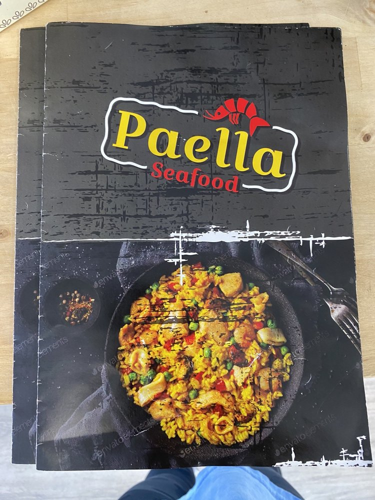 Paella seafood: 849 Forest Ave, Portland, ME
