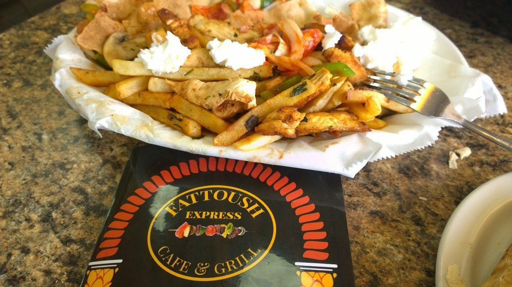Fattoush Express Cafe & Grill: 1297 Fort St, Wyandotte, MI