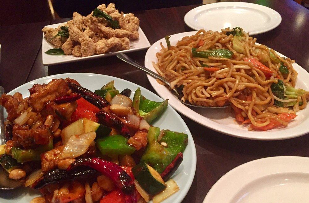 Kungpaotofu vegchowmein popcornchicken yelp for 101 taiwanese cuisine