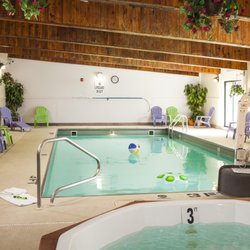 Photo Of Cottonwood Inn Suites Glasgow Mt United States Indoor Pool