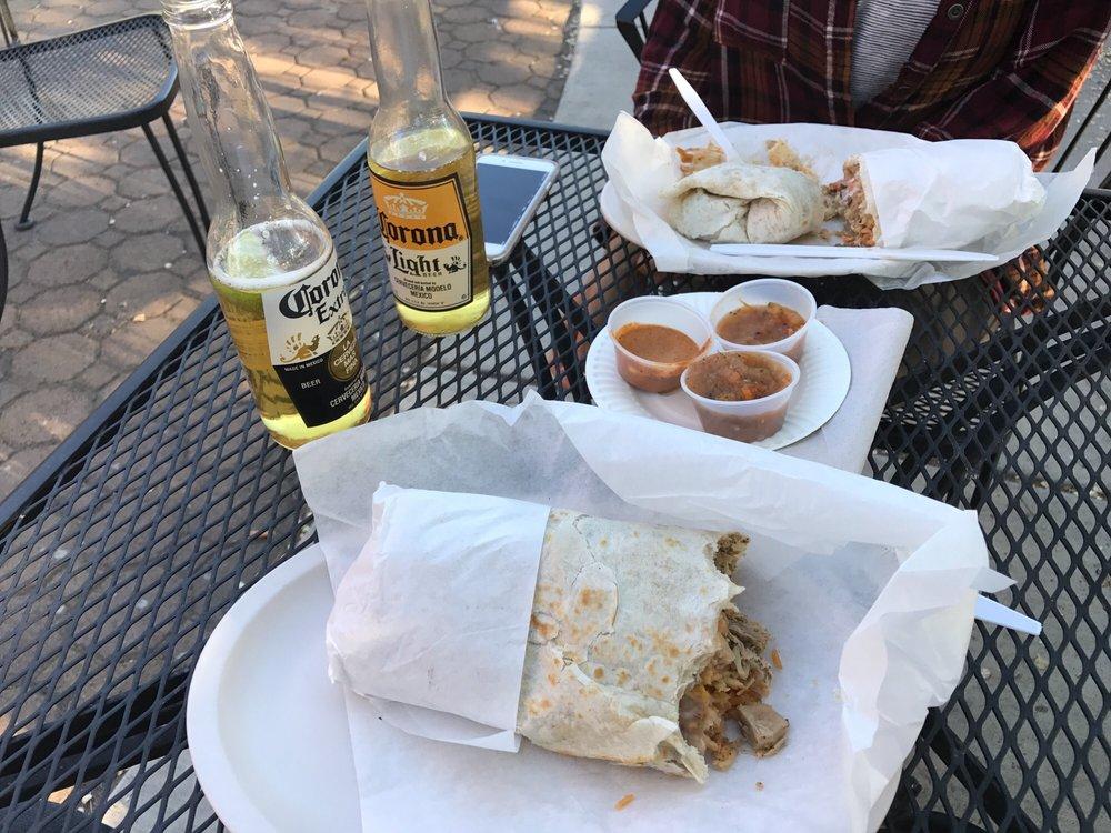 Food from Super Burrito