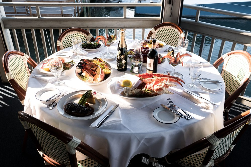 A&B Lobster House: 700 Front St, Key West, FL