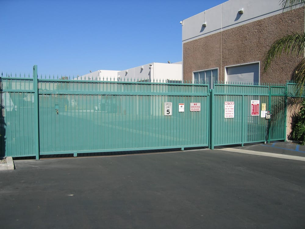 Our Secure Facility Has Computerized Gates With Individual