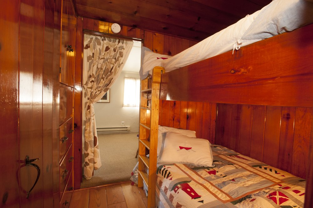 Knotty Pine Ocean View Cabin: 1510 Sunset Ave, Oceanside, OR
