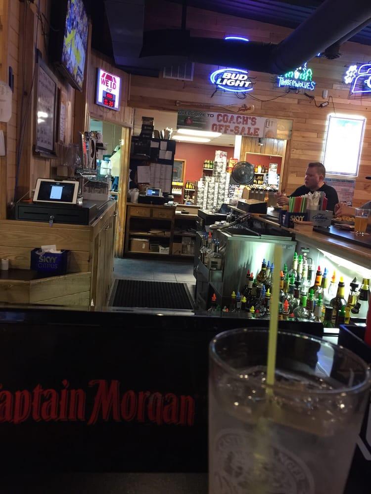 Coach's Corner-Sports Pub & Bottle Shop: Hwy 6 &  210, Deerwood, MN