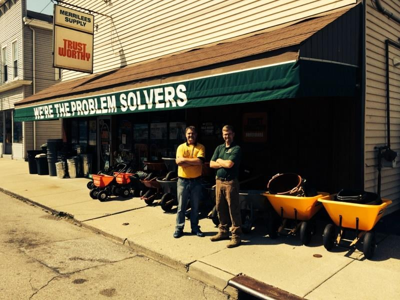 Merrilees Hardware Co: 25 S Miami Ave, Cleves, OH