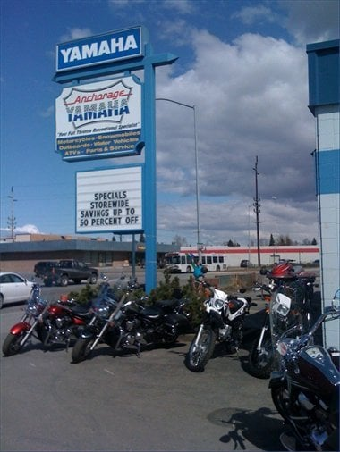Anchorage yamaha motorcycle dealers 3919 spenard rd for Yamaha phone number