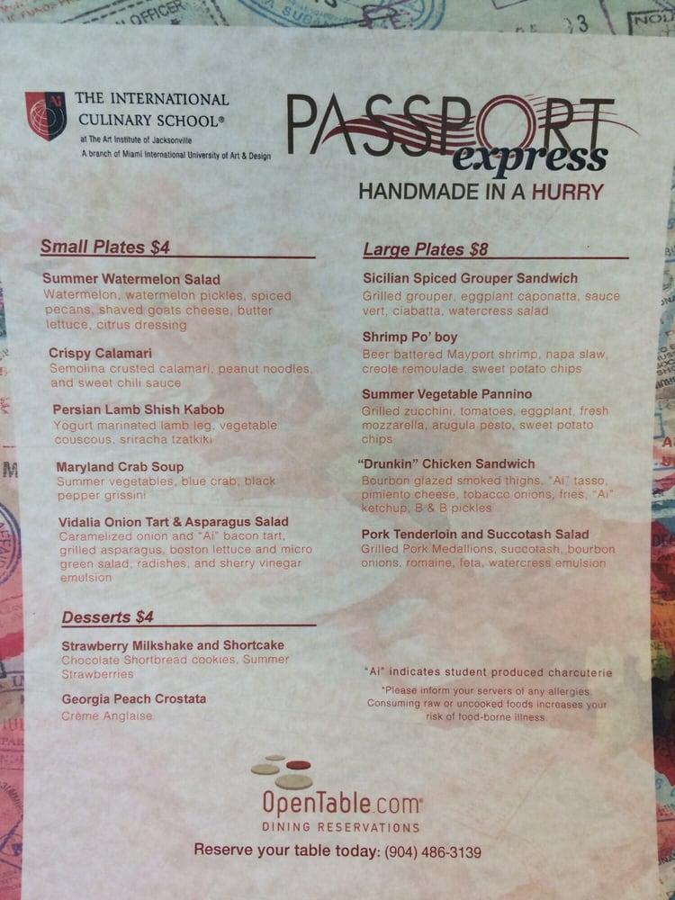 Passport at The Art Institute of Jacksonville
