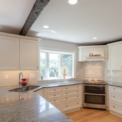 Photo Of Dream Kitchens Nashua Nh United States White Cabinetry With Light