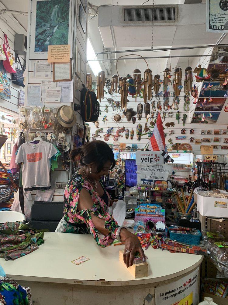 James Souvenirs Shop: 362 Fortaleza Street, San Juan, PR