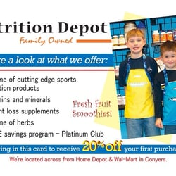Nutrition Depot Weight Loss Centers 1360 Dogwood Dr Conyers Ga