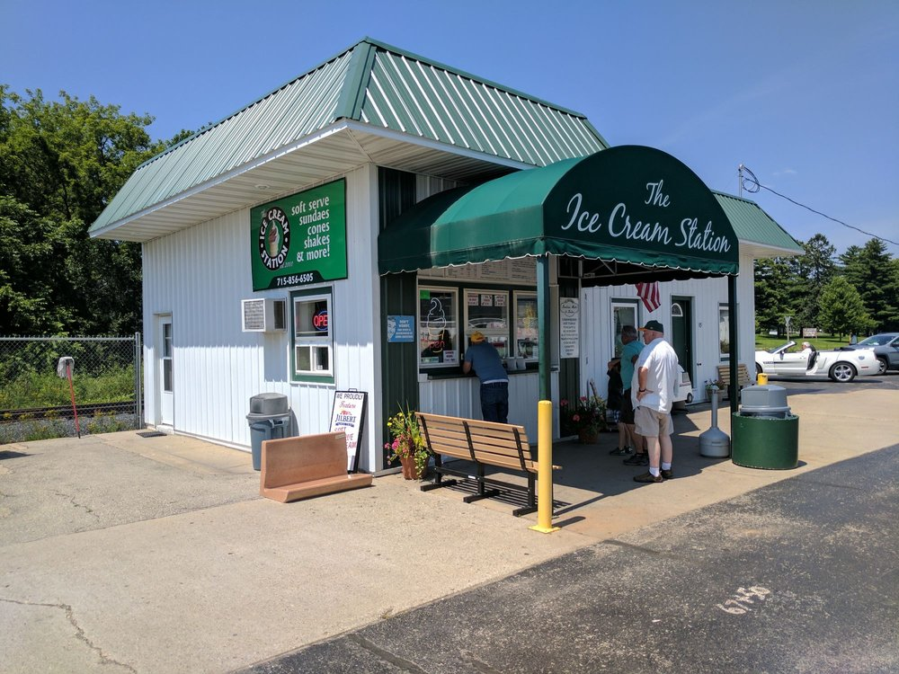 Ice Cream Station: 315 Main St, Wausaukee, WI