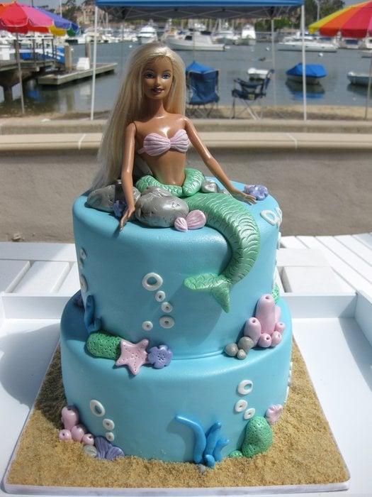 Mermaid Barbie Birthday Cake Yelp