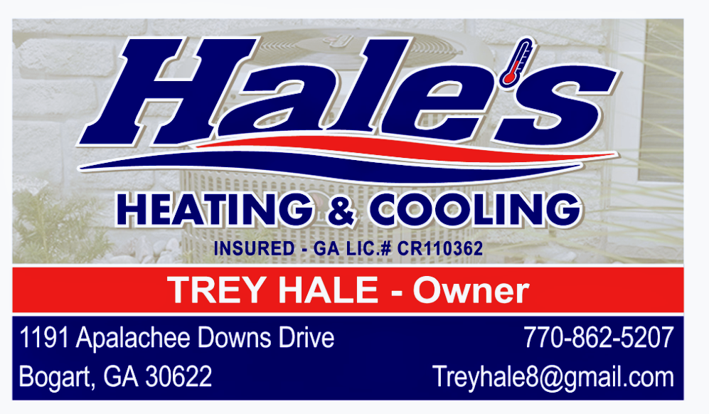 Hale's Heating and Cooling: Bogart, GA