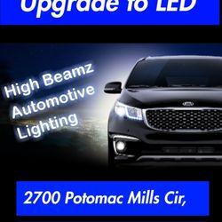 high beamz automotive lighting auto customization 2700 potomac