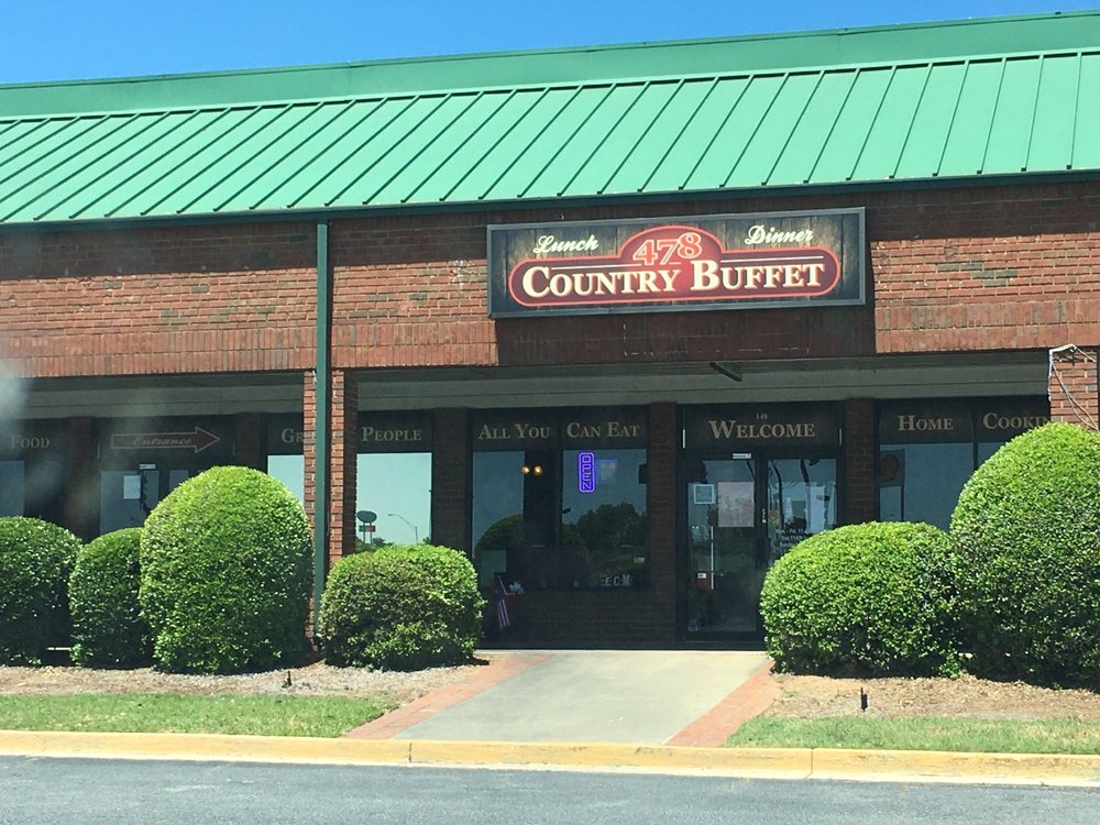 Food from 478 Country Buffet