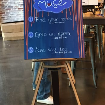 Photo Of Muse Paintbar Virginia Beach Va United States At The Entrance