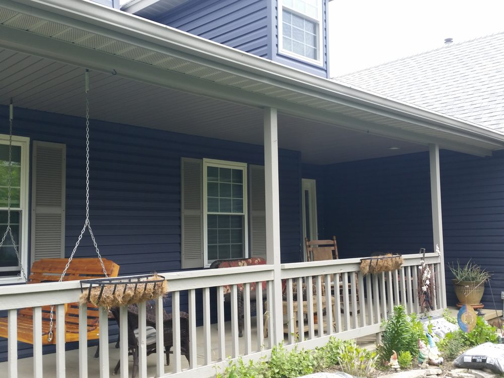 New Marine Blue Siding In Hilliard Ohio Yelp