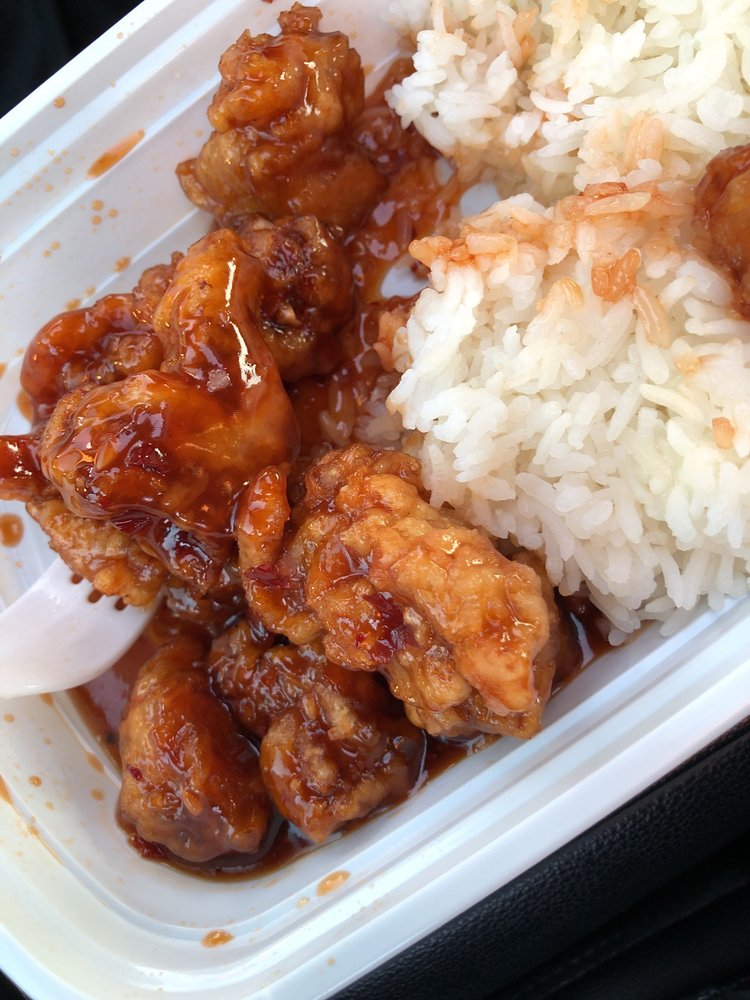 Food from Asian Wok