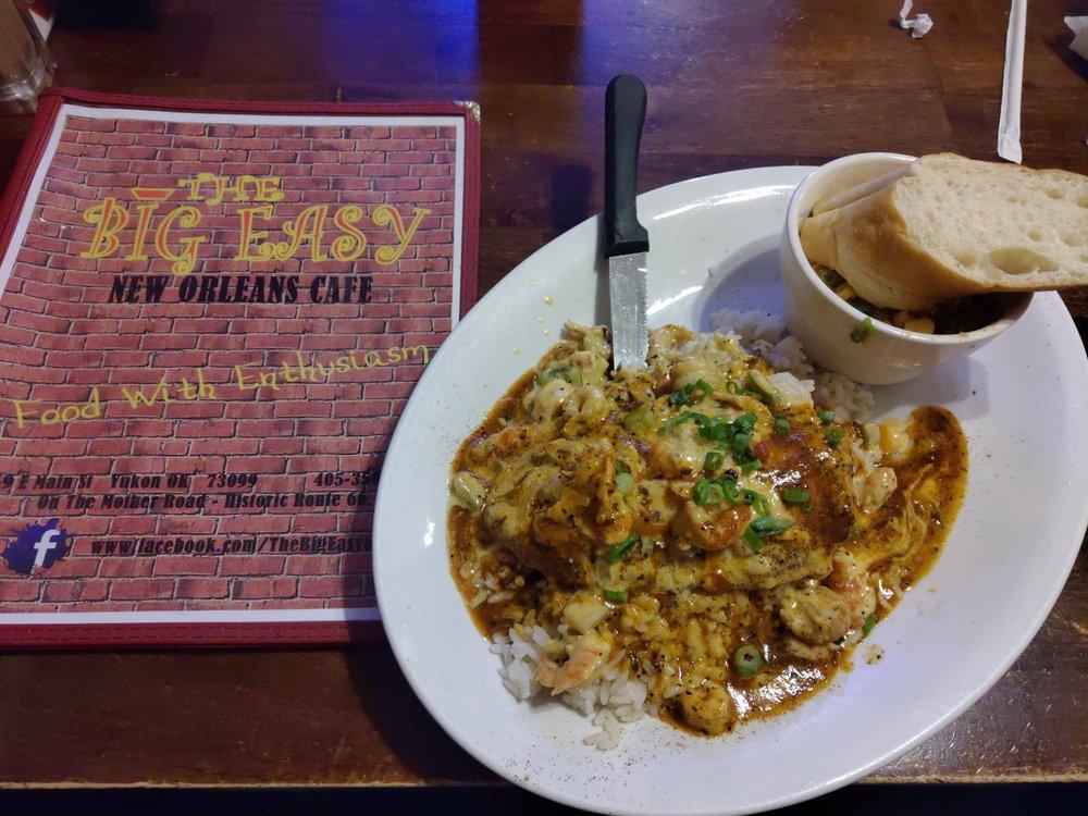 The Big Easy New Orleans Cafe: 359 E Main St, Yukon, OK