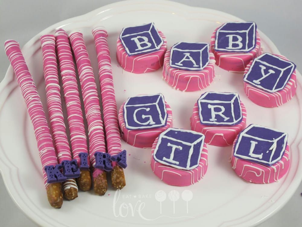 Dipped Oreos For Baby Shower Part - 50: Photo Of Eat Bake Love - Hayward, CA, United States. Chocolate Covered Oreos