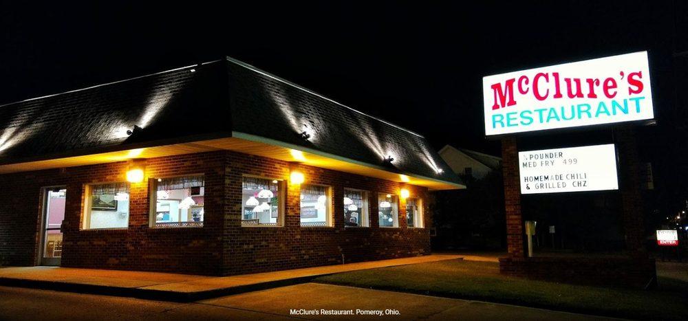 McClure's Restaurant: 356 E Main St, Pomeroy, OH