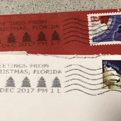 photo of us post office christmas fl united states - Post Office Christmas Hours