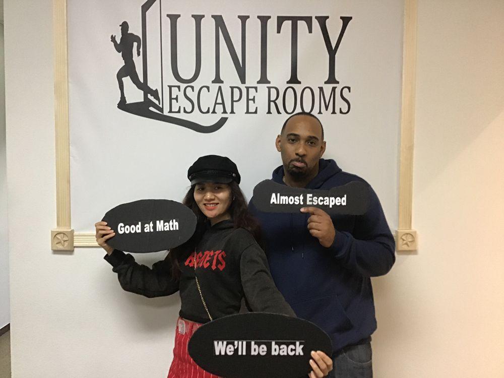 Unity Escape Rooms: 2015 W Park Ave, Redlands, CA